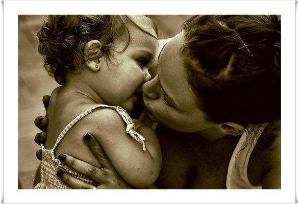 Beso a mi niña
