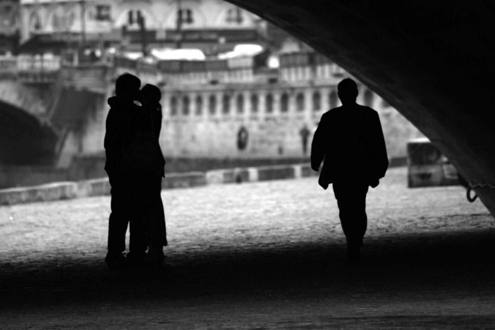 Beso en París 2005