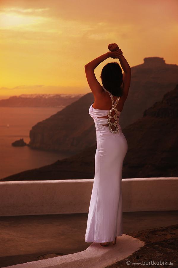 Besondere Momente zum Sonnenuntergang ...
