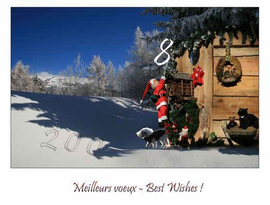 Best Wishes - Meilleurs Voeux !