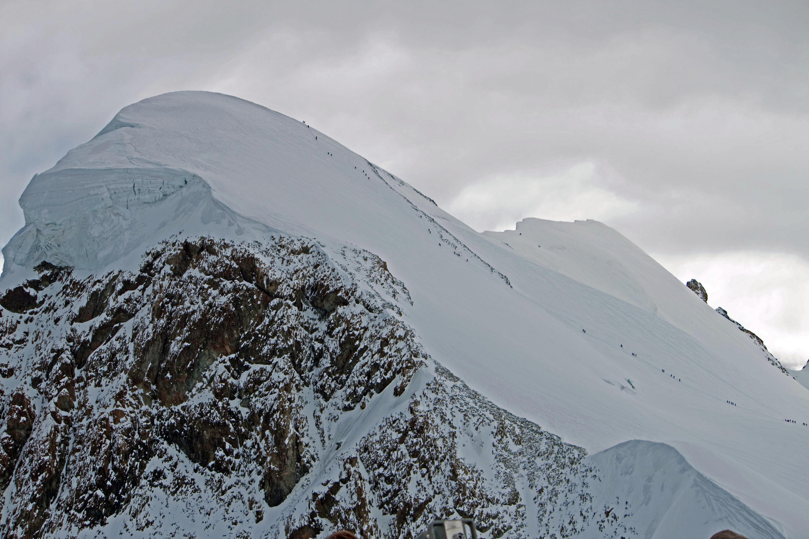 Besteigung des Breithorns