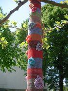 Bestrumpfter Baum