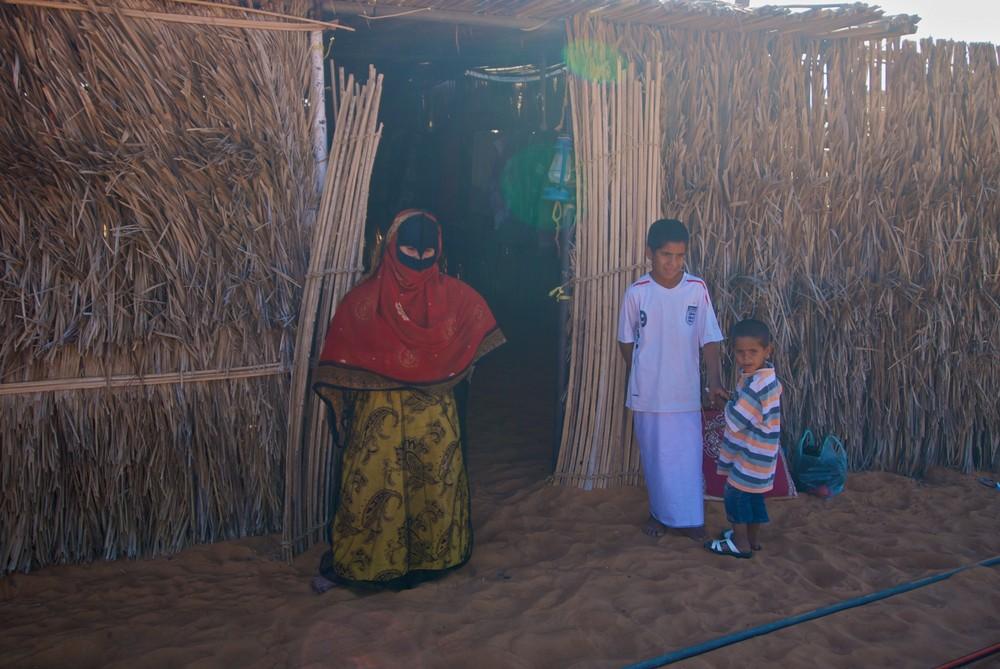 Besuch bei einer Beduinenfamilie