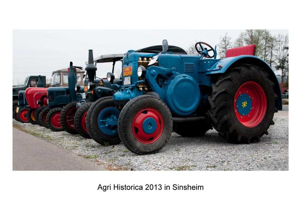 Besuch der Agri Historica in Sinsheim