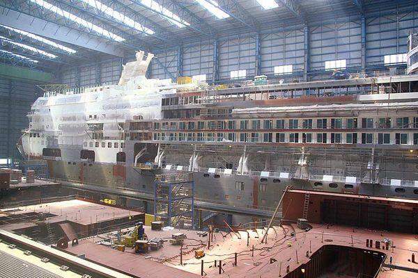 Besuch der Mayer-Werft in Papenburg