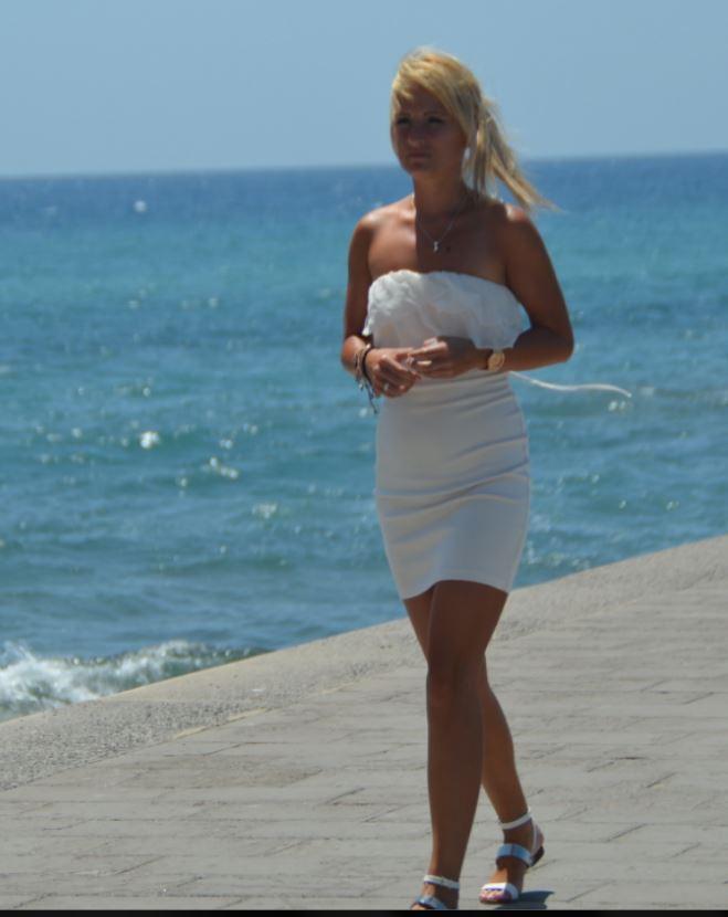 Besuch der Strandpromenade