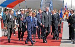 Besuch des Russischen Staatspräsidenten Dmitri Medwedew in München