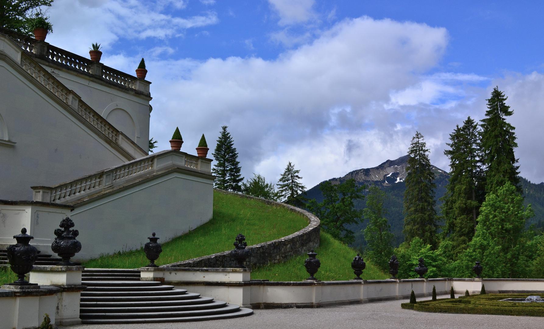 Besuch im Schloss Linderhof (3)
