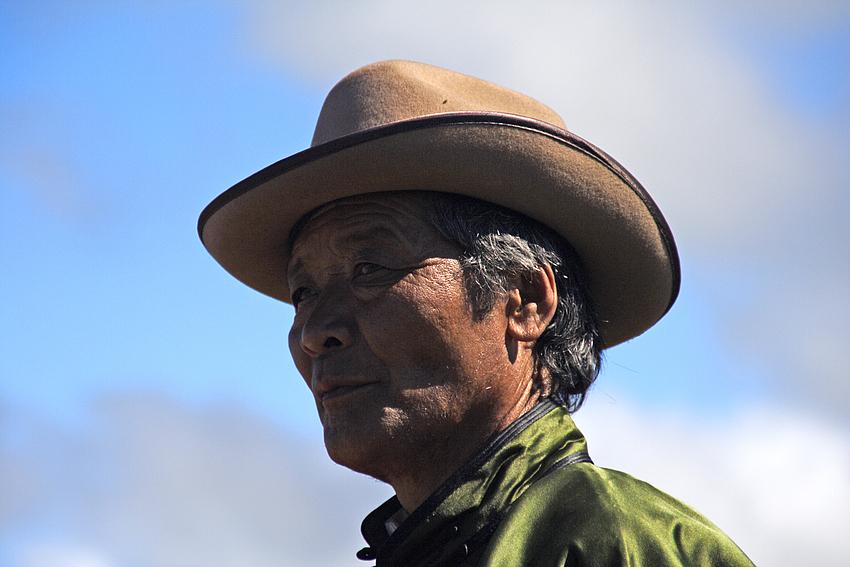 Besucher auf dem Naadamfest 9. Juli 2008 (2)