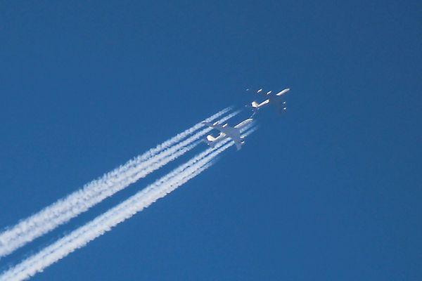 Betankung einer AWACS