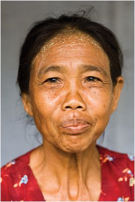 betel nut chewing woman