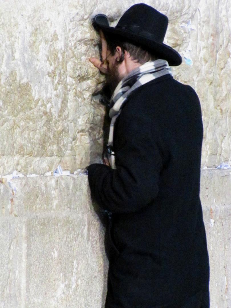 Beten an der Klagemauer