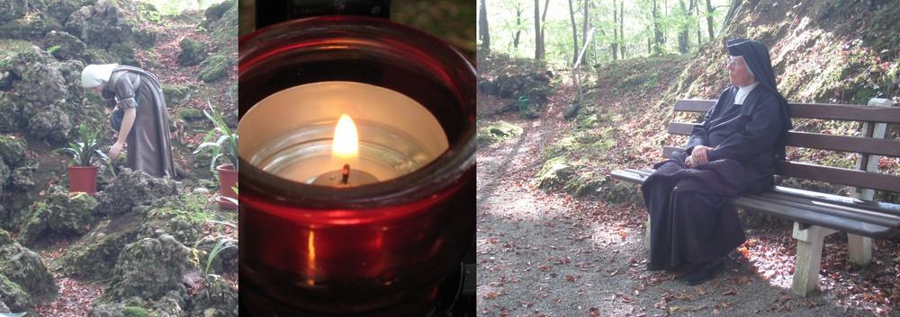 beten heißt sich stille dem licht stellen