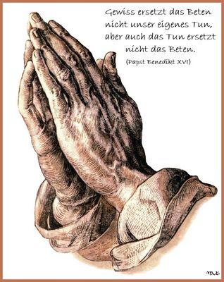 Betende Hände.....