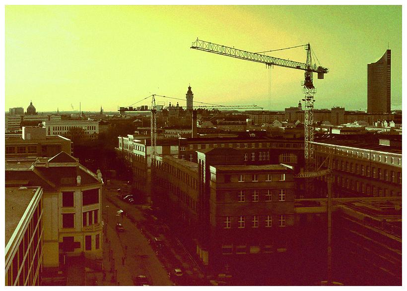 Betonlandschaft Leipzig