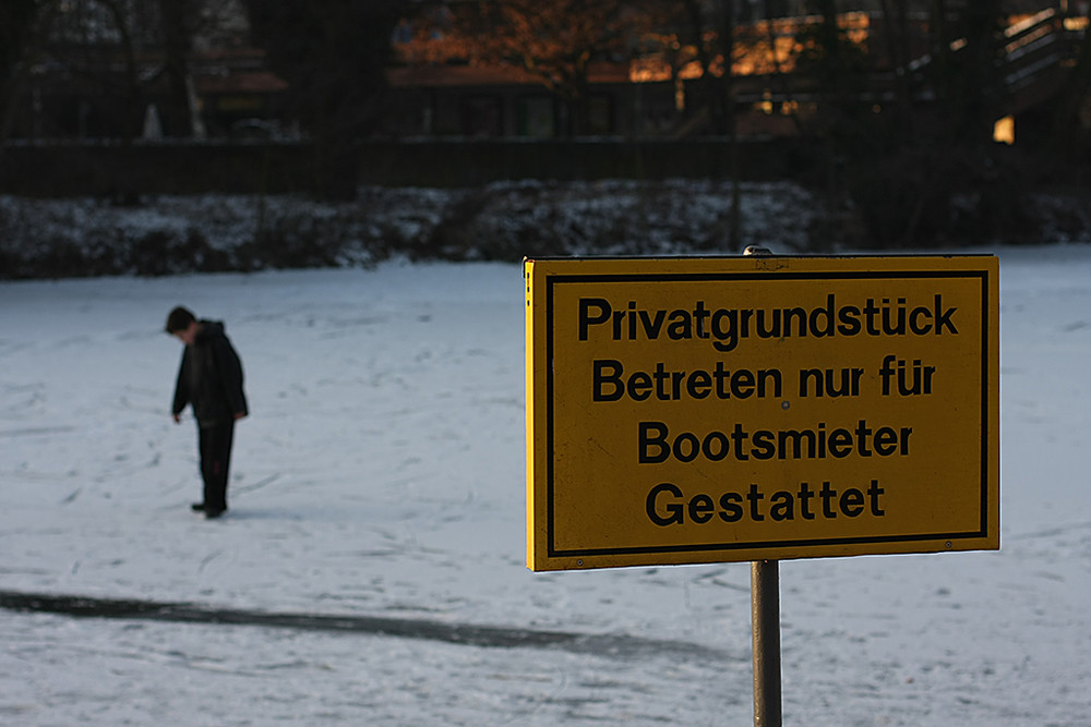 Betreten verboten