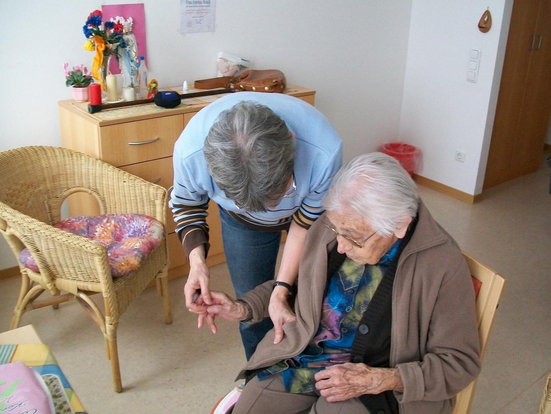 Betreuung von Tante Toni