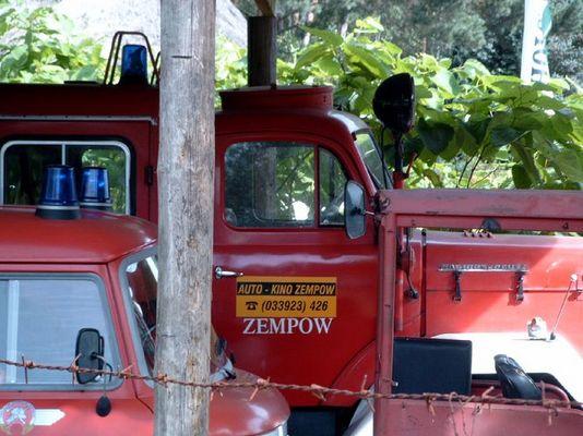 Betriebsfeuerwehr Autokino Zempow