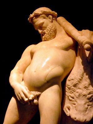 Betrunkener Herkules