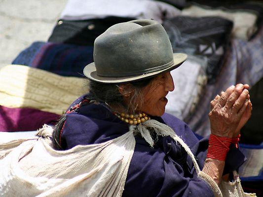 Bettlerin (Otavalo)