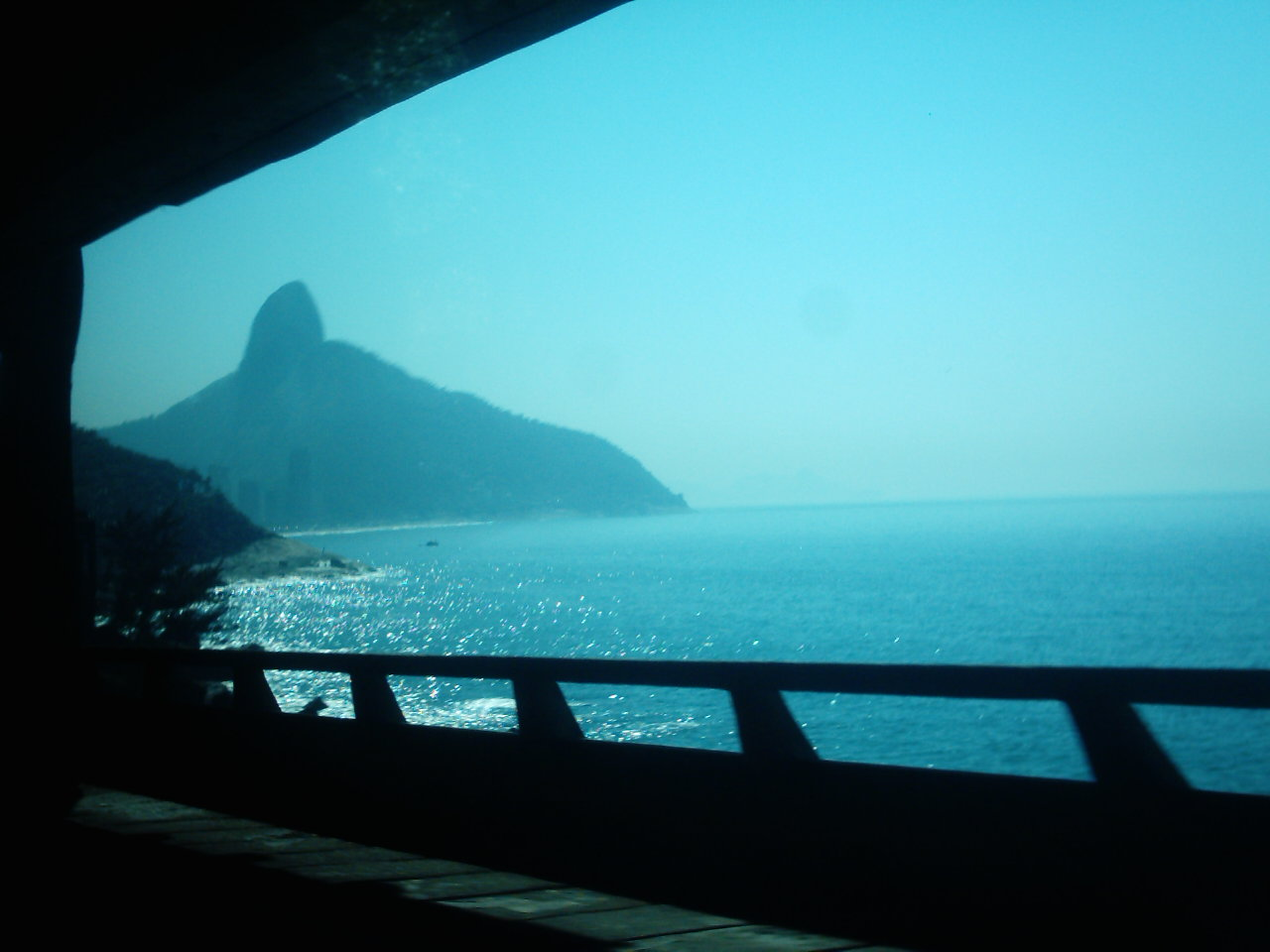 Between Copacabana and Barra de Tijuca