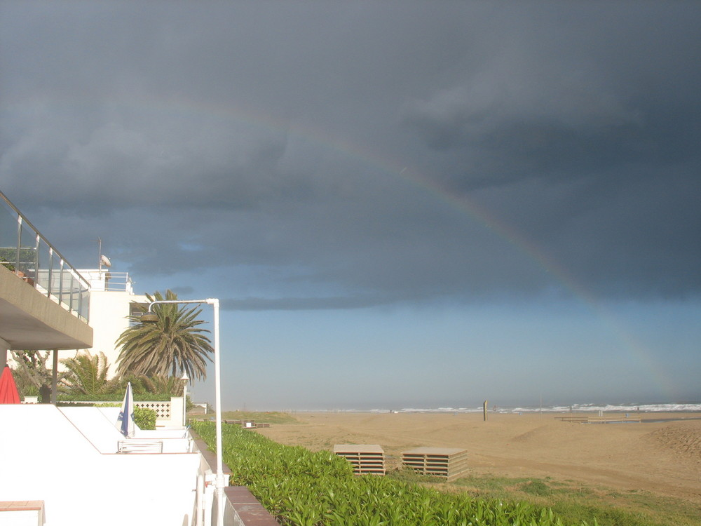Between sun & rain