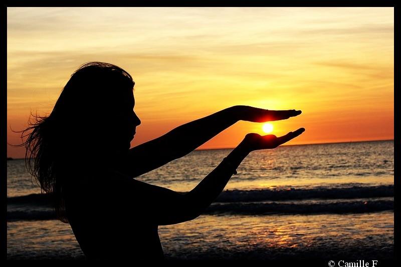 Between the Sun
