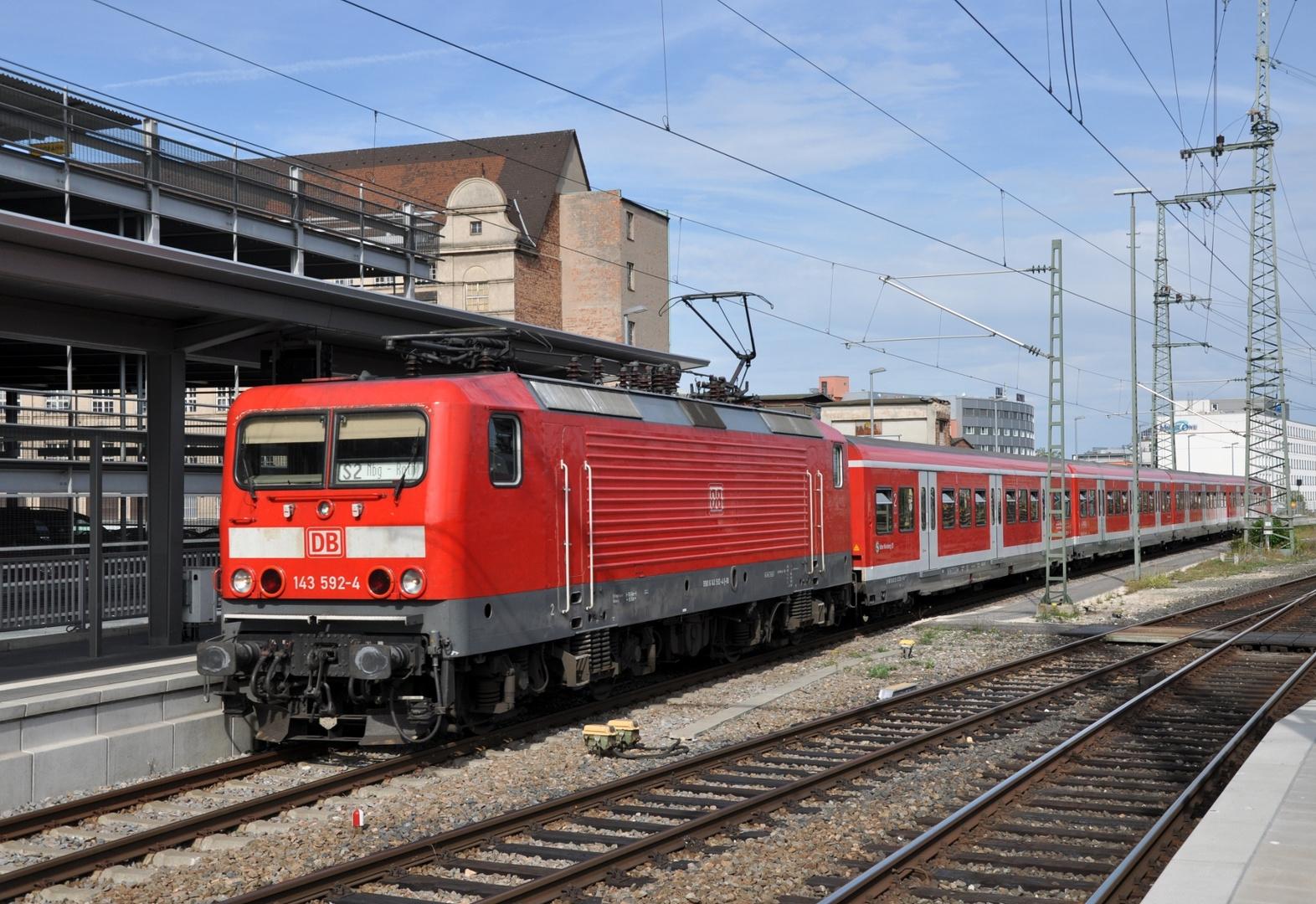 Beutelok im S-Bahn Dienst