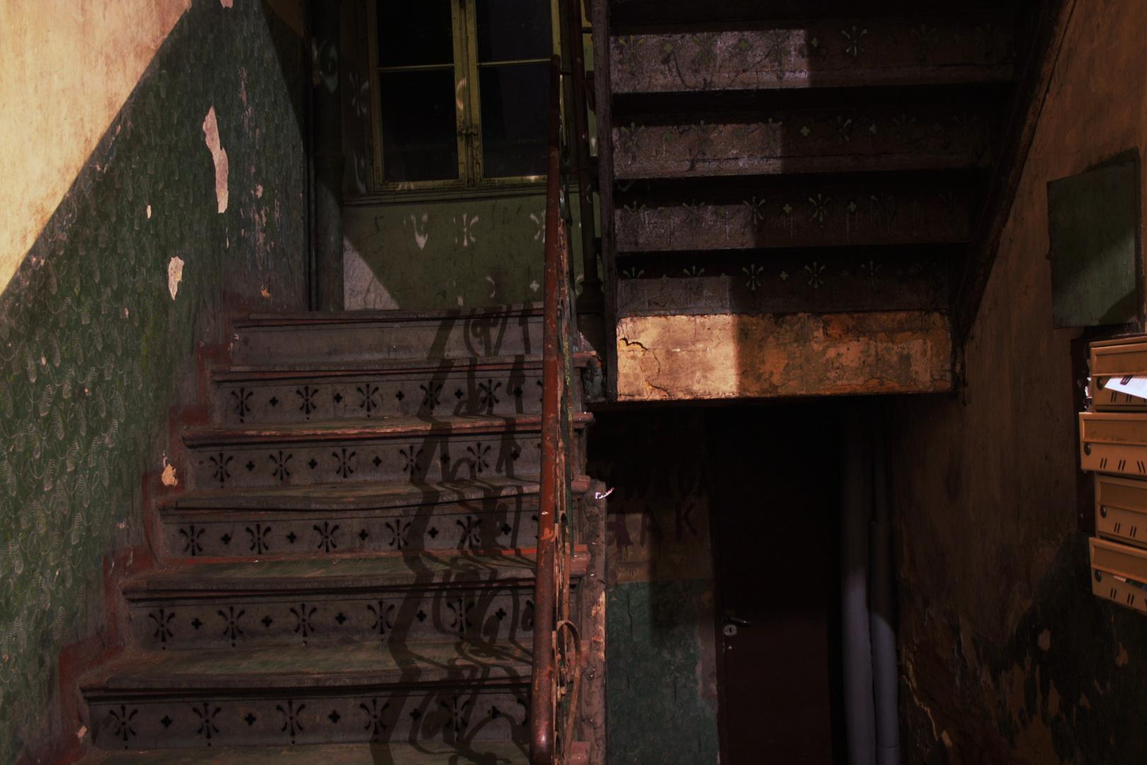 Beuthen , Wohnhaus , Haustreppe .