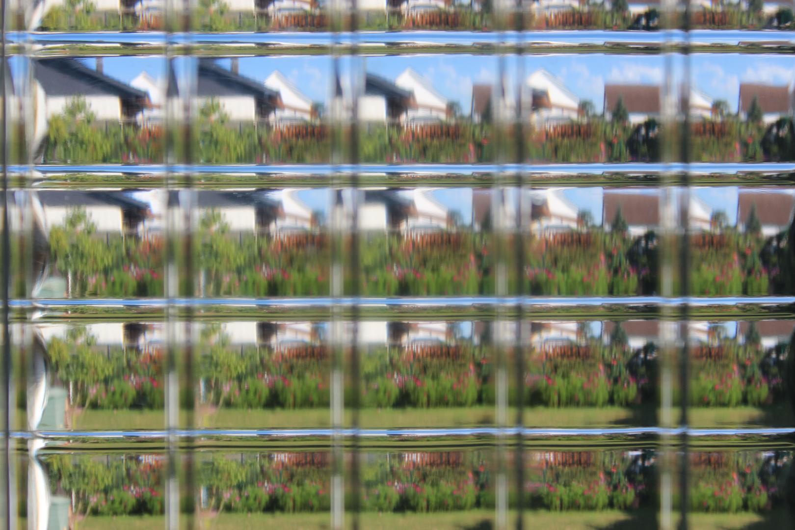 Bewegte Aussichten in Glas