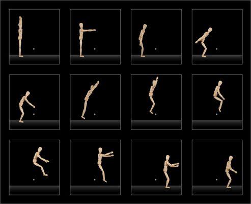 Bewegungsstudie II