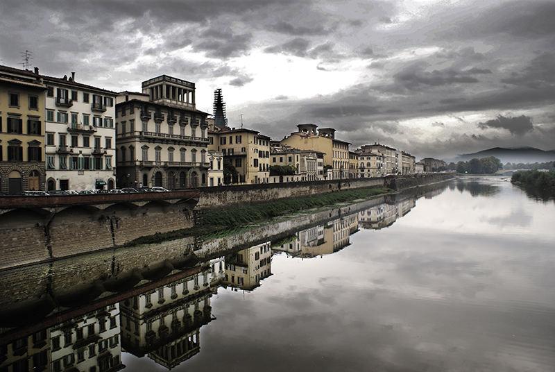 bewölkte Florenz