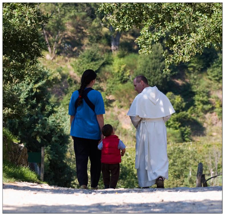 Bewohner von Sant Antimo