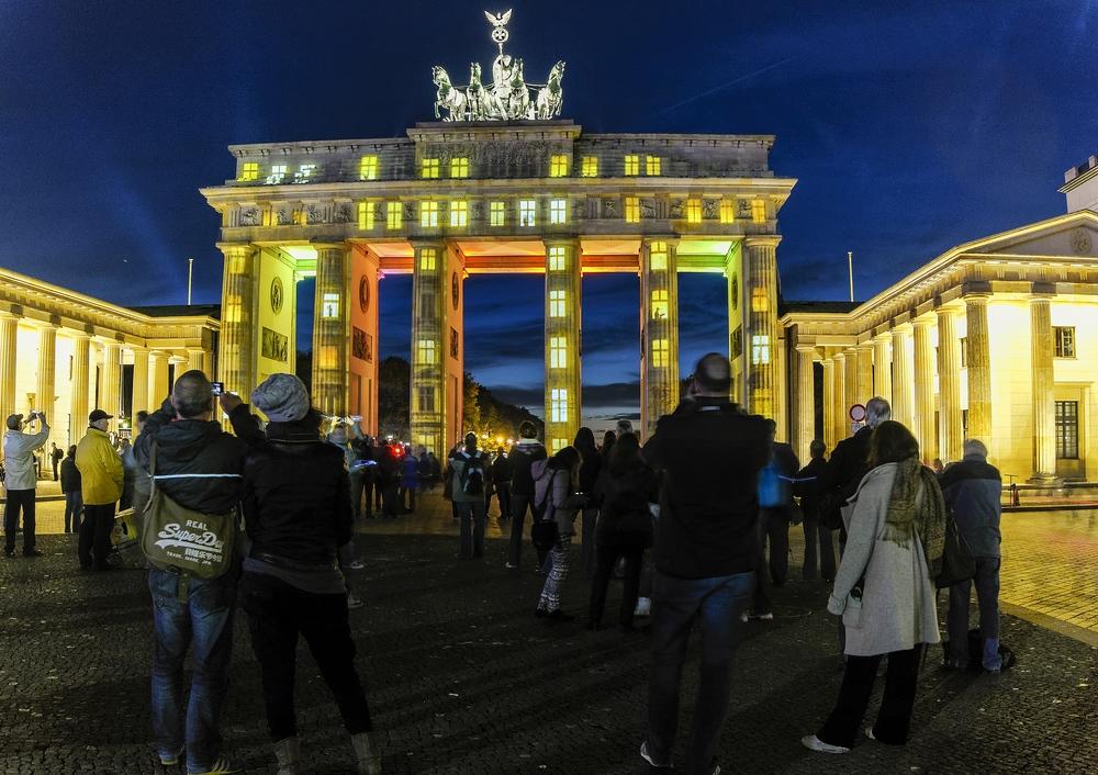 bewohntes Brandenburger Tor