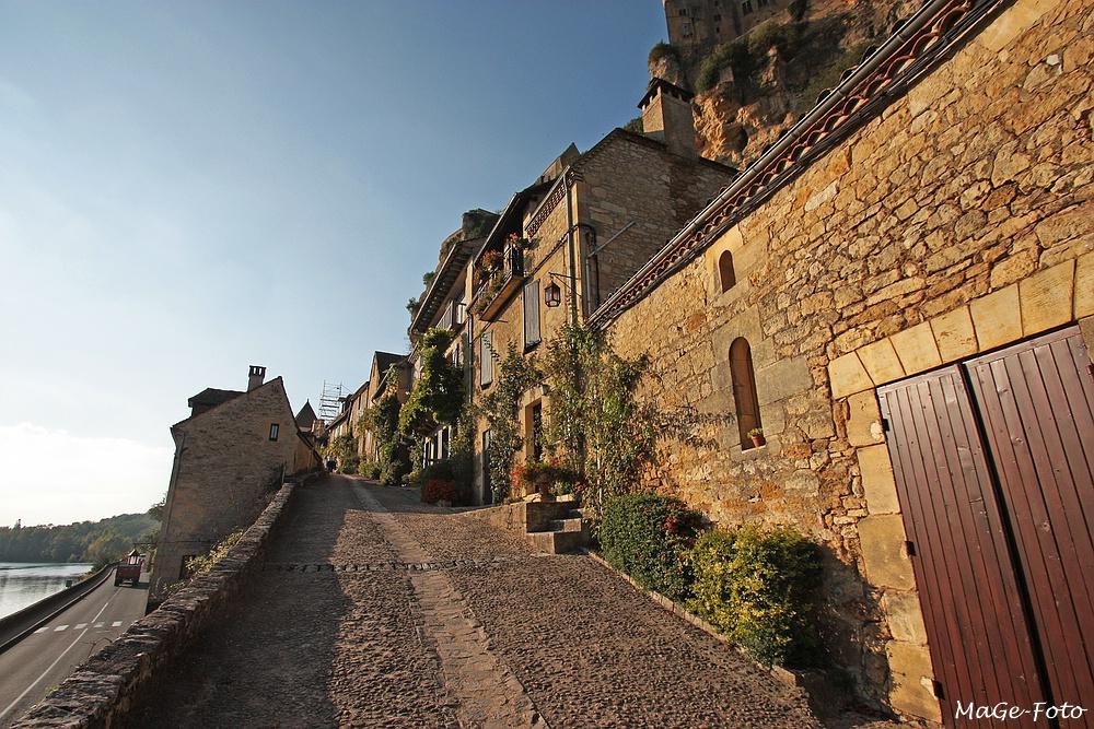 Beynac - Aufstieg zur Burg