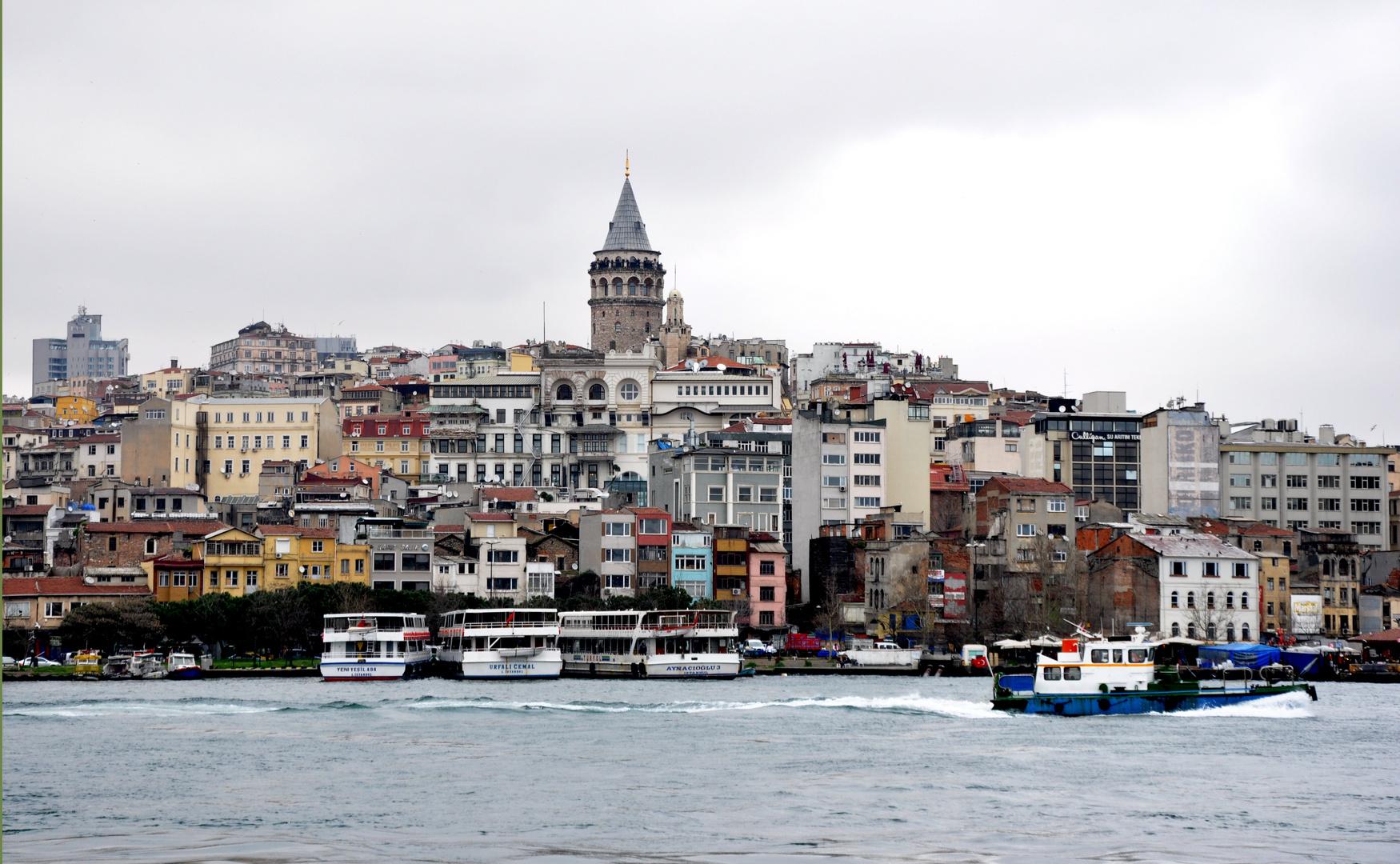Beyoglu - Galataturm