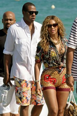 Beyonce Knowles und Jay Z