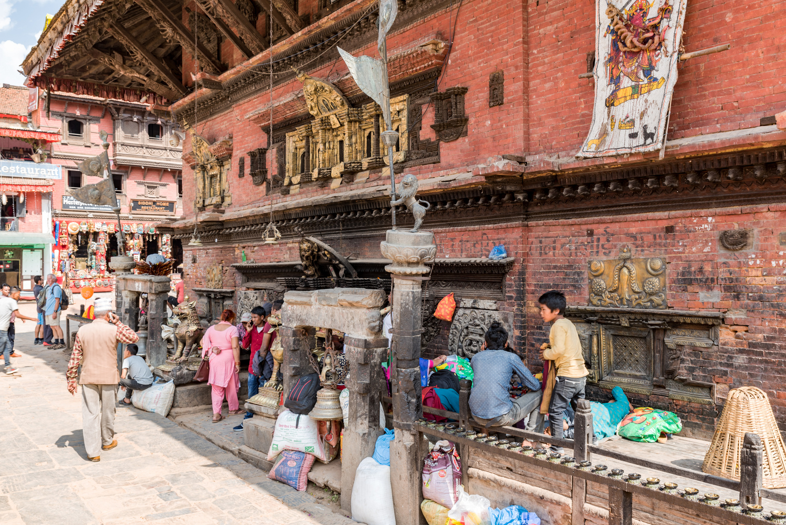 Bhaktapur Kathmandu Tal Nepal