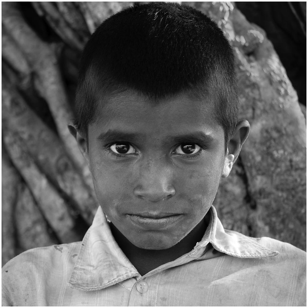 Bhaktapur Portrait s/w 01