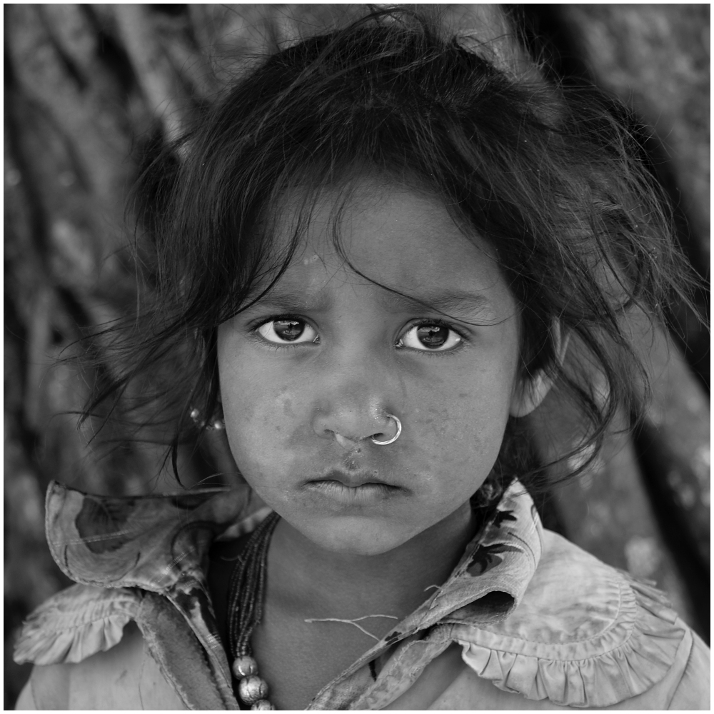 Bhaktapur Portrait s/w 02