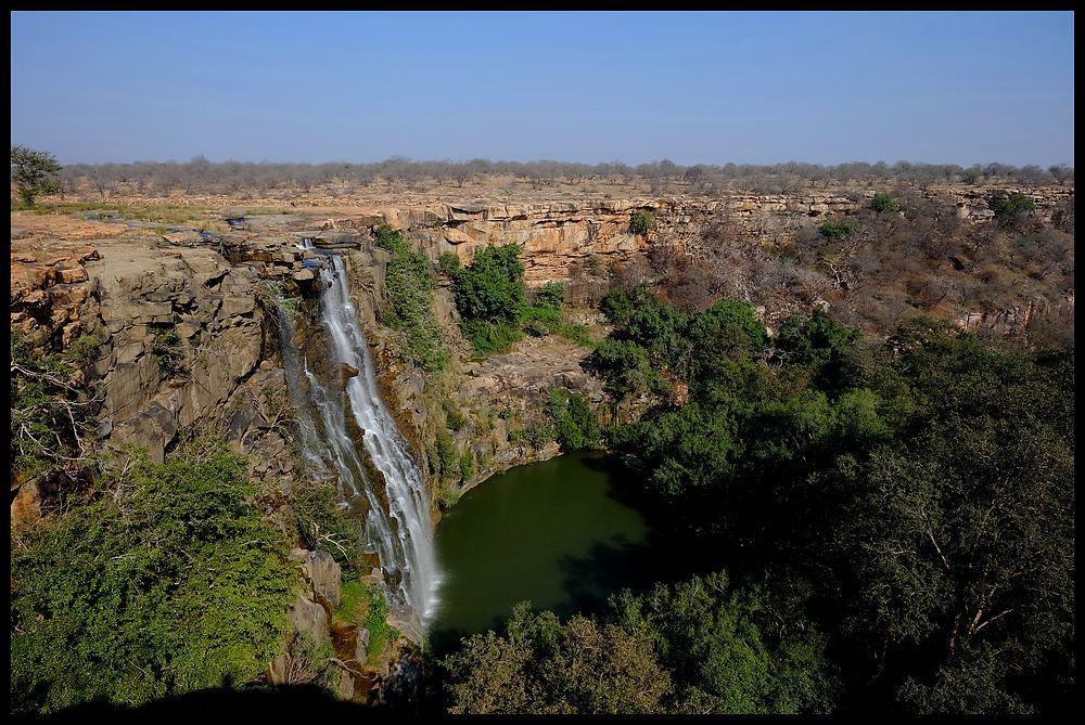 Bhimlat Wasserfall bei Bundi