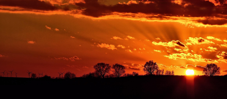 Bi uns tu hus - Sonnenuntergang heute