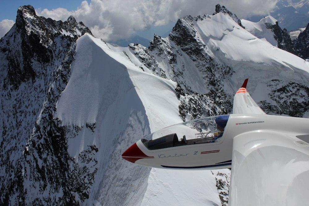 Biancograt aus der Adlerperspektive