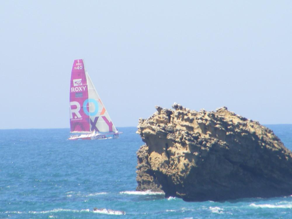 biarritz et un bateau