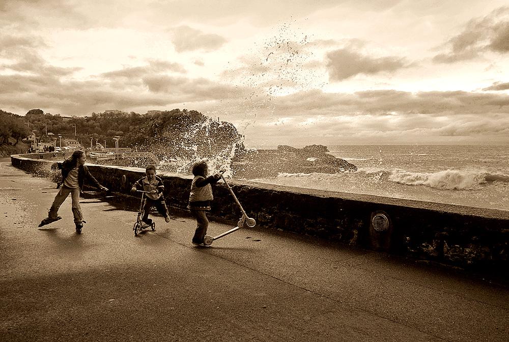 Biarritz - Jeu d'eau