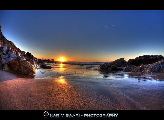 Biarritz, la plage d'Ilbarritz