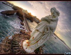 Biarritz, le rocher de la vierge