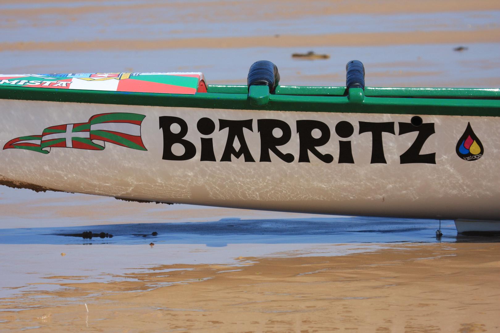 Biarritz surfboat