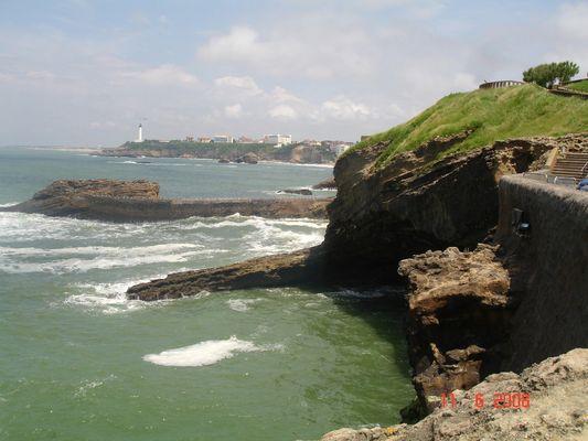 biarritz vue du phare