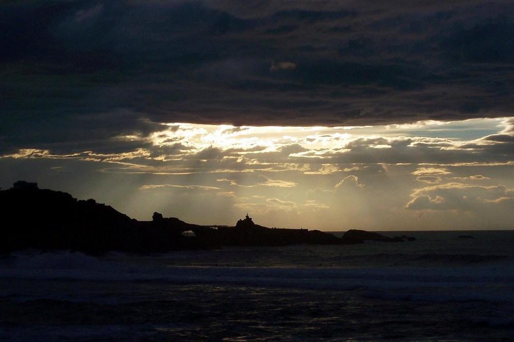 biarritz,soir d'orage